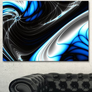 Designart 'Fractal Artwork for Creative Design' Abstract Canvas Wall Art Print