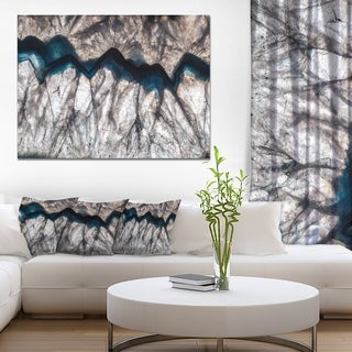 Mineral Macro' Abstract Canvas Wall Art Print