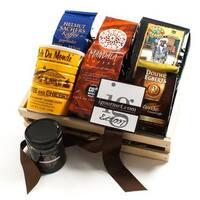 igourmet International Dark Roast Coffee Gift Crate