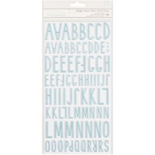 """Little You Thickers Alpha Stickers 5.5""""X11"""" 2/Pkg"""