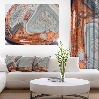Beautiful Lake Superior Agate' Modern Abstract Canvas Print