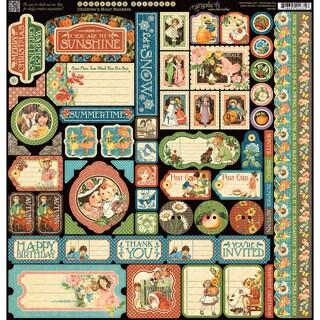 """Children's Hour Cardstock Stickers 12""""X12"""""""