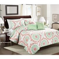 Asher Home  Elyssa 4 or 5 Piece Quilt Set