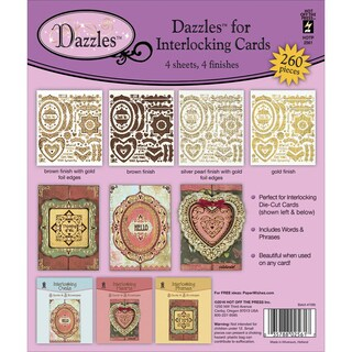 Dazzles Stickers 4/Pkg