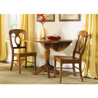 Low Country Suntan Bronze 42x42 Drop Leaf Table