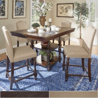 TRIBECCA HOME Parisian Rectangular Counter Height Dining Set