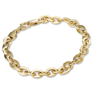 Avanti 14K Yellow Gold Oval Link Fashion Bracelet
