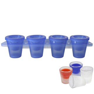Epicureanist Plastic Ice Shooter Tray (Pack of 4)