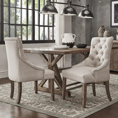 Benchwright Wingback Hostess Chairs (Set of 2) by iNSPIRE Q Artisan