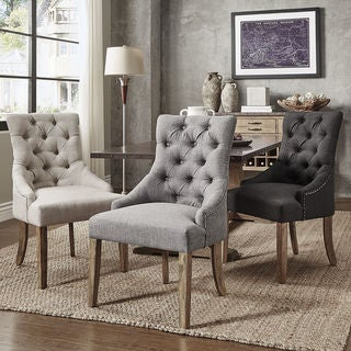Link to Benchwright Wingback Hostess Chairs (Set of 2) by iNSPIRE Q Artisan - Chair Similar Items in Dining Room & Bar Furniture