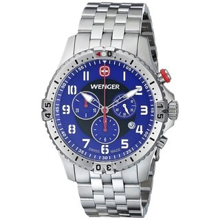 Wenger Squadron 77060 Men's Blue Dial Watch