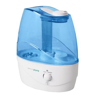 InvisiPure Wave Cool Mist Ultrasonic Humidifier with Night Light