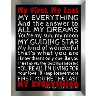 "FramedCanvasArt Studio ""My Everything"" Framed Wall Art"