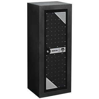 Stack-On Tactical Grey/Black Metal Gun Cabinet