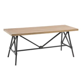 INK+IVY Cooper Natural Dining Bench