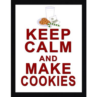 Framed Canvas Art Studio Keep Calm & Make Cookies Framed Plexiglass Wall Art (3 options available)