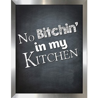 Framed Canvas Art Studio B*tchin Kitchen Framed Plexiglass Wall Art
