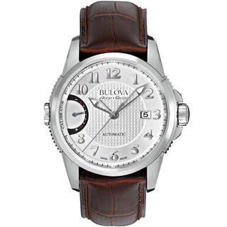 Bulova Mens 63B171 Leather Brown Accu Swiss Watch|https://ak1.ostkcdn.com/images/products/13180232/P19902868.jpg?impolicy=medium