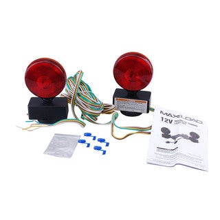 Max Load 12 Volt Magnetic Towing Light Kit