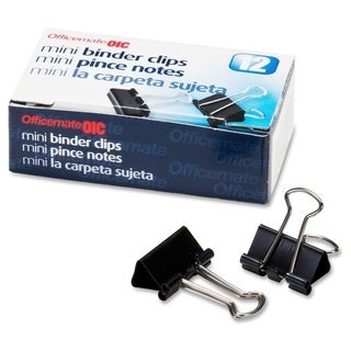 OIC Binder Clip - (12/Box)