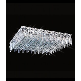 Maxim Collection 8014X-2424 12-light Crystal Flush Mount