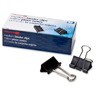 OIC Binder Clip - (12/Box)