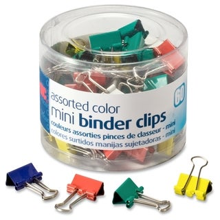 OIC Metal Mini Binder Clips - (1/Pack)