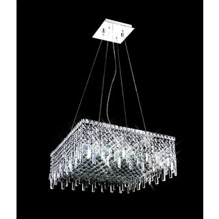 Maxim Collection 8014-2424 Chrome-finished Steel and Crystal 12-light Chandelier