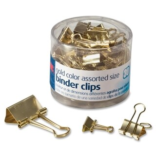 OIC Assorted Size Binder Clips - (30/Pack)