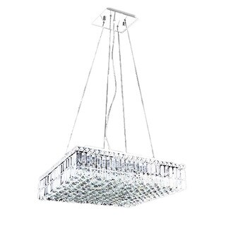 Maxim Collection 8013-2424 Chrome Steel and Crystal 12-light Chandelier