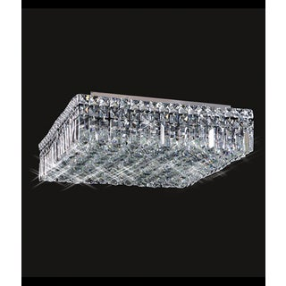 Maxim Collection 8013X-3216 Chrome and Crystal Flush Mount