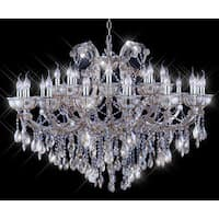 Tiffany-style Collection K100355D-4626 20+ Light Crystal Chandelier