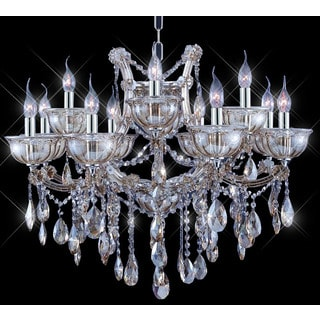 Tiffany-style Collection K100355D-3022+4 Crystal Chandelier