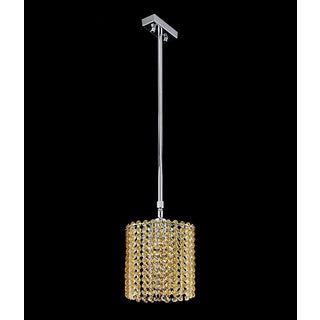 Pendant Style Collection O-2006 Chrome Crystal Pendant Lamp