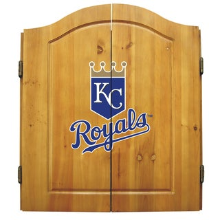 Kansas City Royals MLB Dart Cabinet
