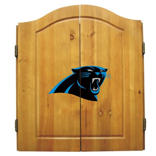 Carolina Panthers NFL Dart Cabinet