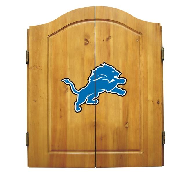 Imperial International Detroit Lions NFL Dart Cabinet