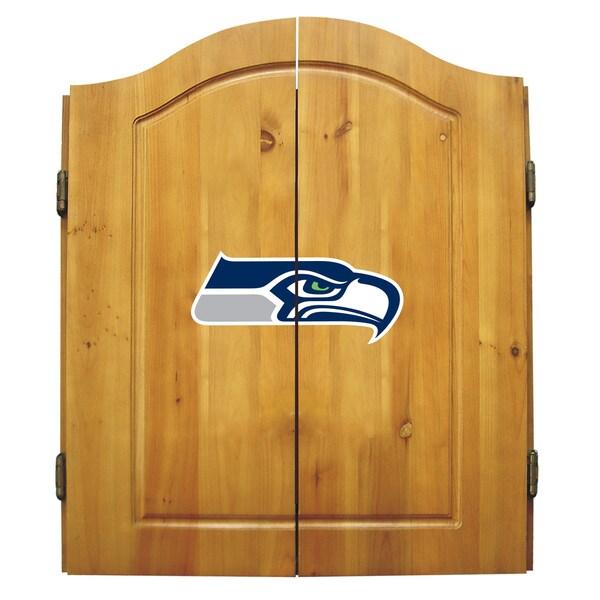 Seattle Seahawks NFL Dart Cabinet