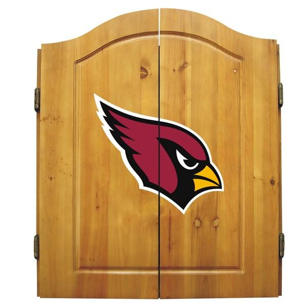 Arizona Cardinals NFL Dart Cabinet