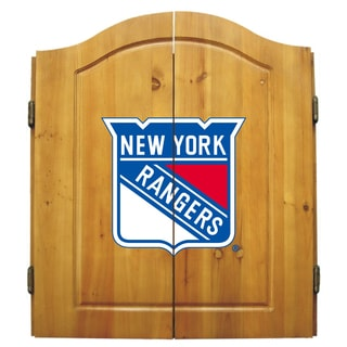 New York Rangers NHL Dart Cabinet