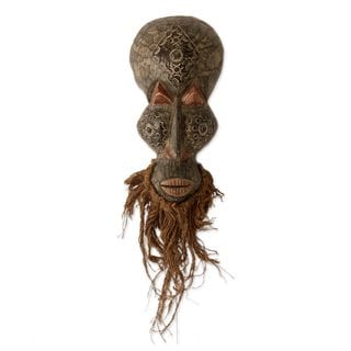 Obosomase Healer African Wood Mask (West Africa)