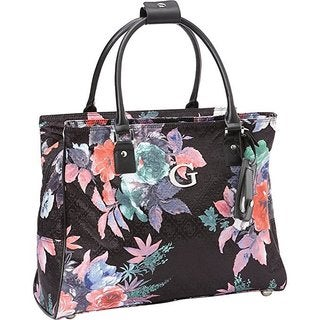 Guess Fortuna Collection Deluxe Shopper Laptop And Tablet Travel Tote Bag