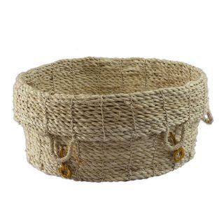 Handmade Ixchel Maguey Basket (Guatemala)