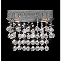 Galaxy Collection Steel Crystal Chandelier - Chrome
