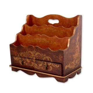 Handmade Thinking of You Letter Holder (Peru)