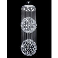 Galaxy Ball Collection 8003-2472 Crystal Chandelier - Chrome