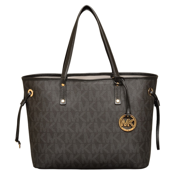 3d9cec534925 Shop Michael Kors Medium Jet Set Reversible Tote - Free Shipping ...