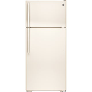 GE Energy Star 15.5 Cubic-foot Bisque Top Freezer Refrigerator