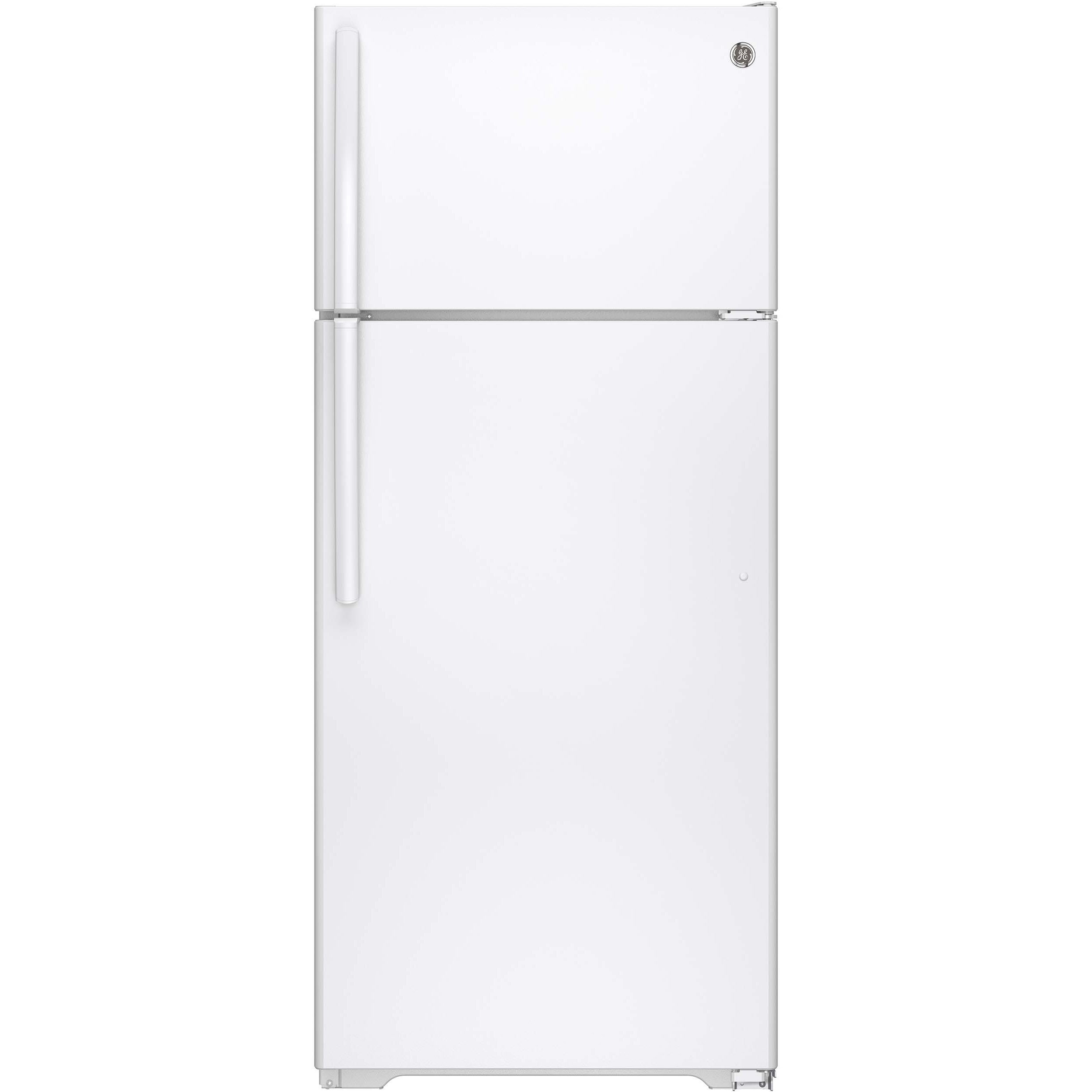 GE Energy Star 17.5 Cubic-foot White Top-freezer Refrigerator White