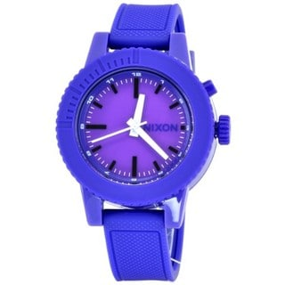 Nixon Women's A287-230 'Gogo' Purple Rubber Watch